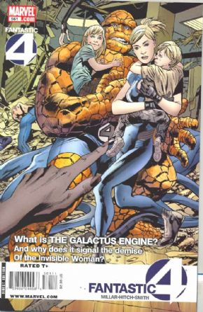 Fantastic Four #561 (2008) Marvel comic book